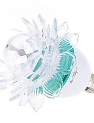 3W E26/E27 Ampoules Globe LED A60(A19) 3 LED Haute Puissance 200-250 lm RVB K Décorative AC 85-265 AC 100-240 AC 110-130 V