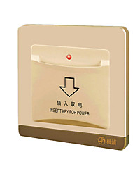 Note  JP86 - any apple gold card electric switchAny Card Delay Electric Switch