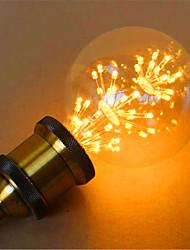 E26/E27 Lâmpada Redonda LED G95 49 leds LED Dip Decorativa Amarelo 800lm 2300K AC 220-240V