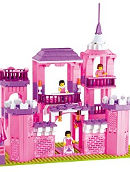 Building Blocks Toys Castle House Horse Novelty Girls' 1035 Pieces