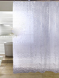 cheap -Shower Curtains Modern PEVA Floral/Botanical Machine Made