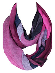 Damer Vintage / Sødt / Fest / Casual Øvrigt / Polyester Halstørklæde-Trykt mønster Uendelighedshalstørklæde
