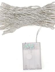 1pc 5m 40led string lys til ferie part bryllup førte christmas belysning