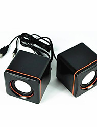 Computer Mini Speaker Stereo Portable Notebook Desktop Laptop USB Speakers