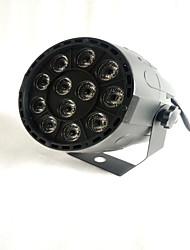 RGBW DMX  12 Led  Business Stage Lights Flat Par High Power Light Professional for Party KTV Disco DJ EU