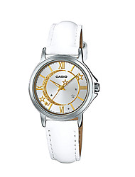 cheap -Women's Fashion Watch Quartz Water Resistant / Water Proof Leather Band Casual Luxury White