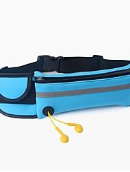 Недорогие -Поясные сумки Пояс Чехол для Марафон Спортивные сумки Водонепроницаемаямолния Со светоотражающими полосками Телефон / Iphone Сумка для бега Samsung Galaxy S6 iPhone 5c iPhone 4/4S / iPhone 8/7/6S/6