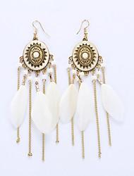 cheap -Women's Tassel Drop Earrings / Earrings - Tassel, European, Fashion Black / Red / Blue For Wedding / Party / Daily