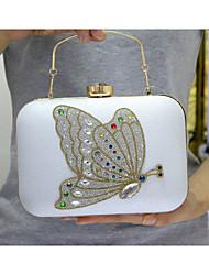 preiswerte -Damen Taschen PU Poly Urethan Abendtasche Crystal / Strass Anhänger / Schmuck für Veranstaltung / Fest Formal Büro & Karriere Ganzjährig