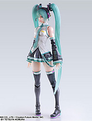 cheap -Anime Action Figures Inspired by Vocaloid Hatsune Miku PVC 25cm CM Model Toys Doll Toy