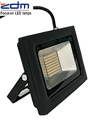cheap -ZDM 60W 3518X288PCS 5800LM Waterproof IP65 Ultra Thin Outdoor Light Cast light Warm White/Cold White(AC170-265V)