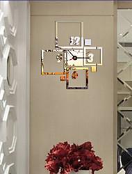 baratos -Moderno/Contemporâneo / Escritório/Negócio Casas / Amigos / Família / Escola/Graduação Relógio de parede,Inovador Acrilico / Vido 40*36
