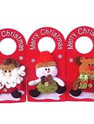 porta 1pc di Natale appendere decorazioni natalizie aggiungono Decorazioni di natale (stile casuale)