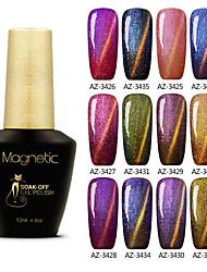 abordables -Gel UV para esmalte de uñas 0.012 1 Gel de color UV Clásico Empapa de Larga Duración Diario Gel de color UV Clásico Alta calidad
