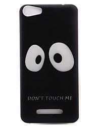 Недорогие -Для wiko lenny3 lenny2 телефон чехол чехол большие глаза узор окрашенный материал tpu для wiko u feel u feel lite sunny jerry
