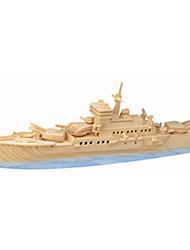 baratos -Quebra-Cabeças de Madeira Barco de Guerra Nível Profissional De madeira 1pcs Crianças Para Meninos Dom