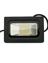 cheap -LED Floodlight Slim Line Swing Arm Easy Install Waterproof Outdoor Lighting Garage/Carport Warm White Cold White AC 220-240V