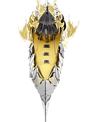 P074-GS DIY KIT 3D Puzzles Jigsaw Puzzle Metal Puzzles Toys Ship 3D 3 Pieces Christmas Birthday Valentine's Day Gift