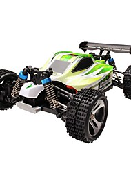 Carro com CR WL Toys A959-B 2.4G Off Road Car Alta Velocidade 4WD Drift Car Carroça 1:18 Electrico Escovado 70 KM / H Controlo Remoto