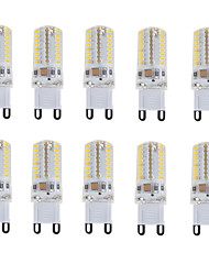 cheap -E14 G9 LED Bi-pin Lights T 64 SMD 3014 180-210 lm Warm White Cold White Natural White 3000-6000 K Waterproof Decorative V