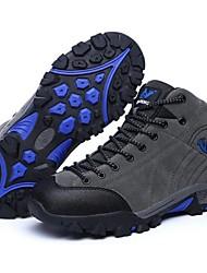 cheap -Men & Women Couple Sports Outdoor Casual Track Boots Climbing Hiking Shoes Fishing Breathable Running Shoe Waterproof