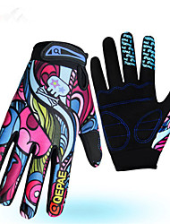 cheap -Sports Gloves Bike Gloves / Cycling Gloves Keep Warm Wearproof Anti-skidding Reduces Chafing Full-finger Gloves Cotton Fibre Lycra