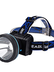 Headlamps Headlight LED lm 1 Mode - Rechargeable Super Light High Power Dimmable for Camping/Hiking/Caving Everyday Use Cycling/Bike