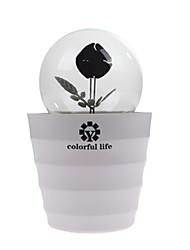 Недорогие -водить романтическая роза цветок шарика lightled дома и комнаты ночь свет освещение украшения