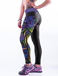 cheap -Women Print Legging,Polyester Spandex