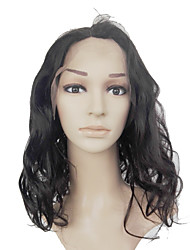 cheap -360 Frontal 360 Frontal / Body Wave Free Part Swiss Lace Human Hair