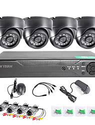 cheap -TWVISION® 8CH HDMI 960H CCTV DVR Video Surveillance Recorder 1000TVL Dome Cameras CCTV System
