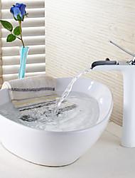 abordables -Robinet lavabo - Jet pluie Peintures Set de centre Mitigeur un trou