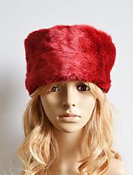 Žene Jednobojni Slatko Ležerne prilike Umjetno krzno - Skijaška kapa