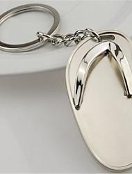 de metal do anel chave do carro chinelos criativas principais presentes de alto grau pequenos