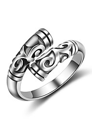 cheap -Men's Adorable Rose Gold / Sterling Silver Knuckle Ring / Band Ring - Sexy / Multi-ways Wear / Hip-Hop Silver Ring For Wedding / Party /