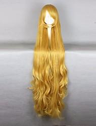 Halloween GOSICK-Victorique De Blois 110CM Long Wavy Yellow High Quality Lolita Fashion Party Cosplay Wigs