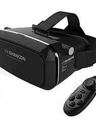 Virtual Reality Headset Vr Shinecon 3d Movie Game Glasses VR Box Casque Inch Smartphone  whit VR Box Remote Gamepad