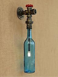 CA 220V-240V 3W interruttore a parete e27 con il tubo di acqua applique da parete bottiglia