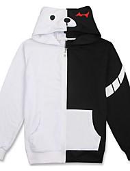 economico -Abiti Cosplay Ispirato da Dangan Ronpa Monokuma Anime Accessori Cosplay Maglietta Cotone Per uomo Per donna