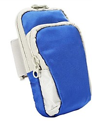 Unisex Bags All Seasons Nylon Mobile Phone Bag for Casual Sports Outdoor Royal Blue