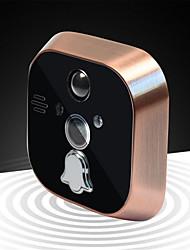 Wireless Visual Intercom Doorbell 7 Inch Color Screen Remote Control Camera