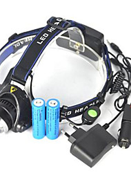 cheap -Headlamps LED 5000 lm 1 Mode Anglehead / Super Light Camping / Hiking / Caving / Cycling / Bike / Hunting