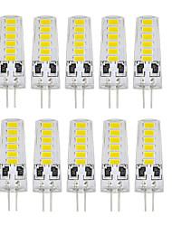 Χαμηλού Κόστους Smart Home  Huge Promotion-10 τεμ G4 12 SMD LED 5733 DC12V 400 lm θερμό λευκό λευκό διπλή καρφίτσα αδιάβροχο λαμπτήρα