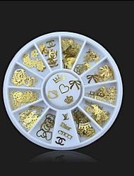 abordables -1 Bijoux à ongles Autres décorations Glitters Métallique Mode Haute qualité Quotidien