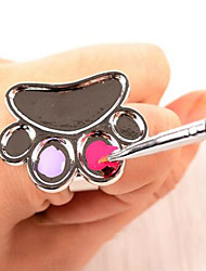 1PCS Manicure Tools Ring The Palette Cute Little Feet