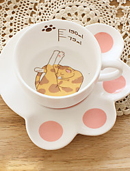 cheap -Drinkware Glass Daily Drinkware Novelty Drinkware Coffee Mug Decoration Girlfriend Gift 1pcs