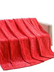bedtoppings ricoprono flanella corallo pile finto visone matrimoniale 200x230cm 320gsm solido rosso