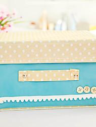 Storage Box For Shoes Cap Non Woven Fabric (Random Colours)