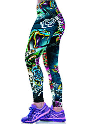 cheap -Women Print Legging,Polyester Spandex
