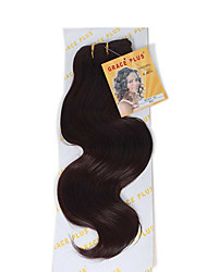 3pieces body wave synthetic kanekalon fiber weaves body wave 16 18 20 inch 130g/piece